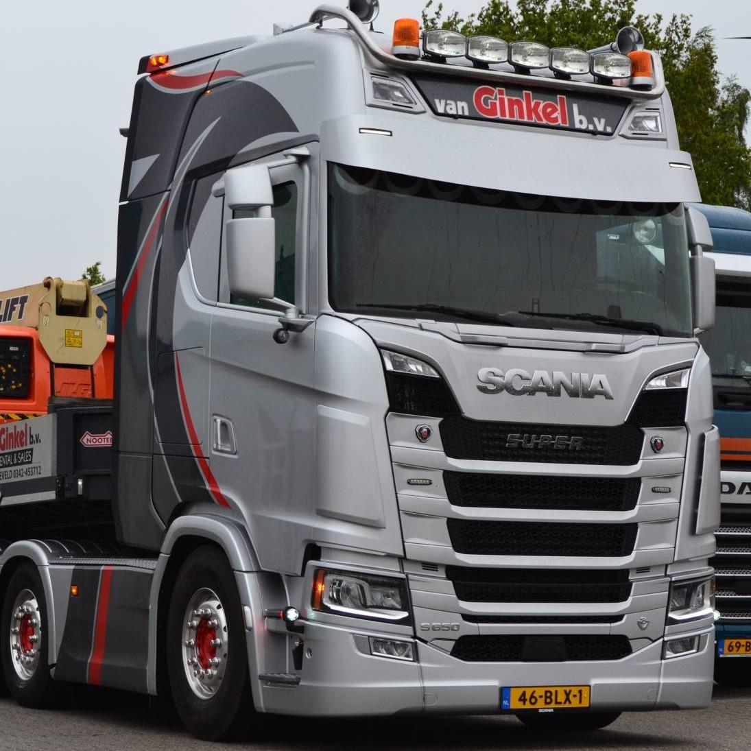 Vrachtwagens blinderen